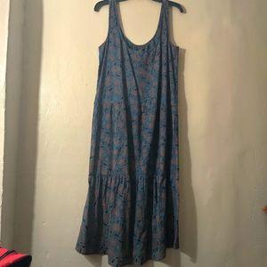 NWOT Frye maxi dress